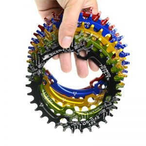 SNAIL-Ultralight-104BCD-32T-34T-36T38T-A7075-Alloy-MTB-Bike-Bicycle-Narrow-Wide-Chainring-Oval-Round