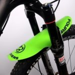 FOURIERS-New-Bike-Bicycle-MTB-Fender-Mudguard-for-Front-Fork-Rear-Saddle-Quick-Release-Plattic-Ultralight